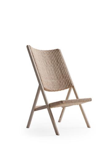 molteni la nuova sedia larga a sedile stretto e pieghevole